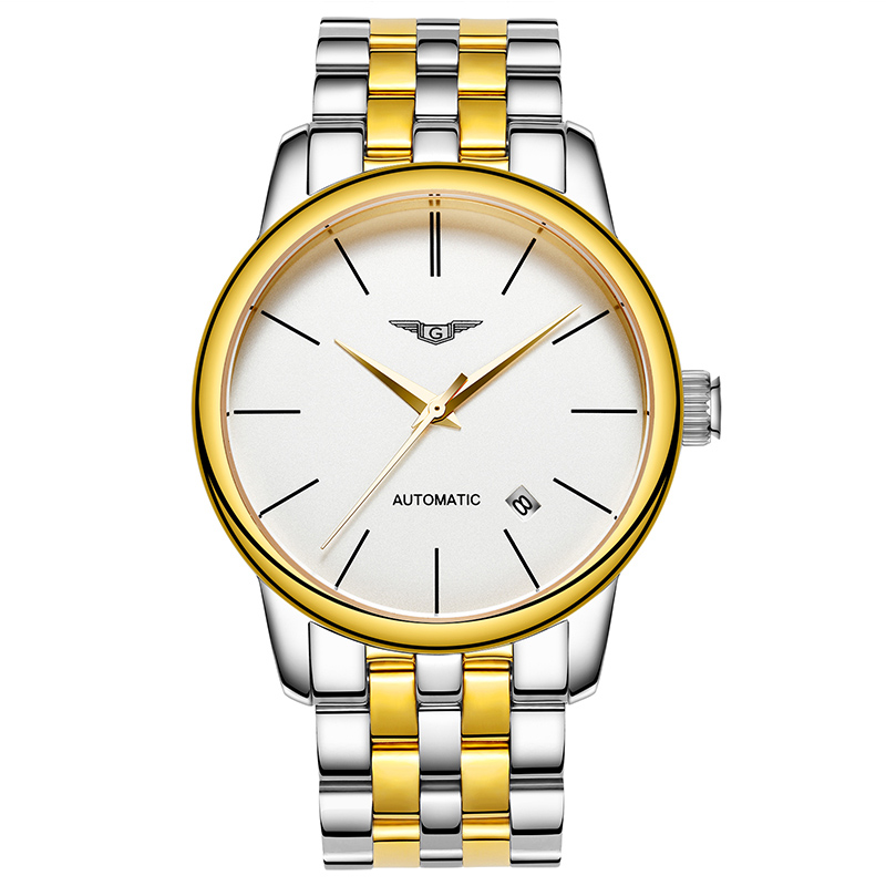 e149959be83d3 HomeMinimalistG Luxury Automatic Stain Steel Strap Men's Watch. Sale.  Previous